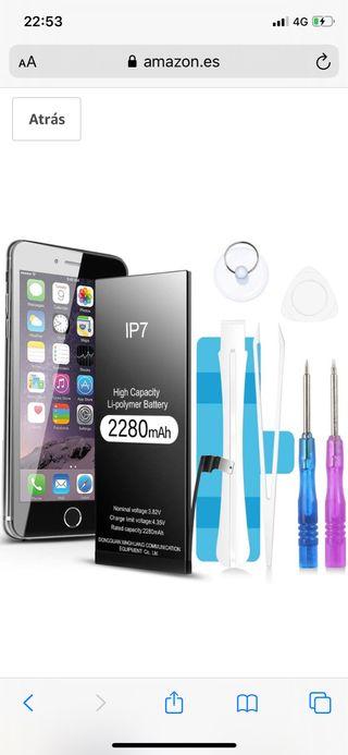 Batería de 2280 mAh para iPhone 7