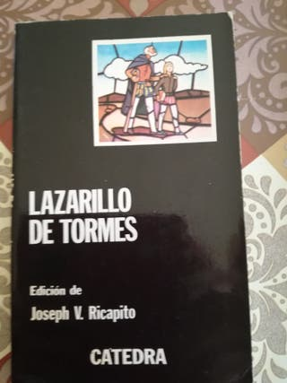 Lazarillo de Tormes. libro editorial Cátedra