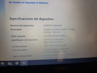 pc portatil Sony Vaio