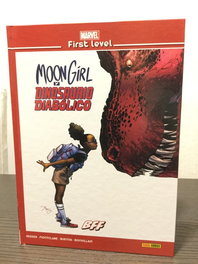 Marvel First Level Moon girl&Dinosaurio diabólico
