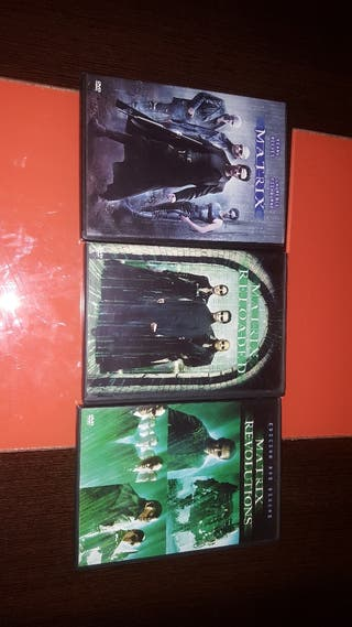 trilogia Matrix DVD