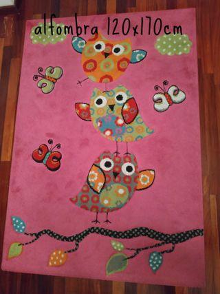 Textil búhos: sábanas, cortinas, alfombra ...