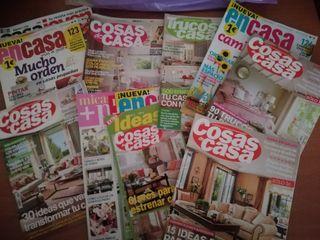 Lote 25 revistas decoración