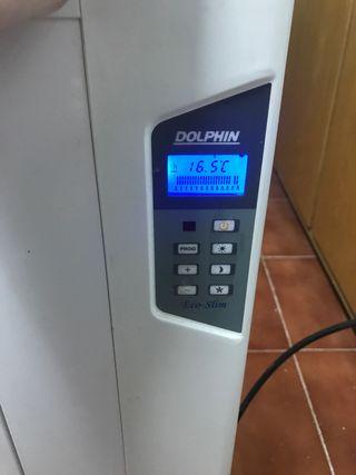 Radiador emisor térmico