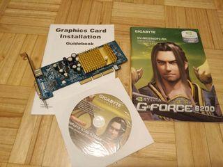 Tarjeta gráfica nVIDIA GeForce 6200