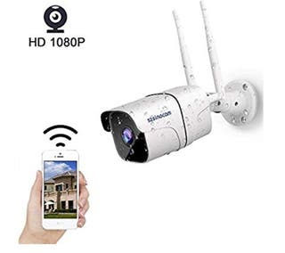 SZSINOCAM Cámara de Vigilancia WiFi Exterior 1080P