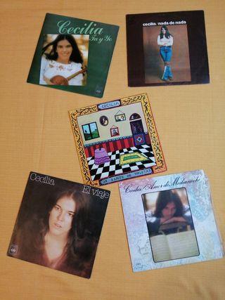 Discos Vinilo Singles de CECILIA