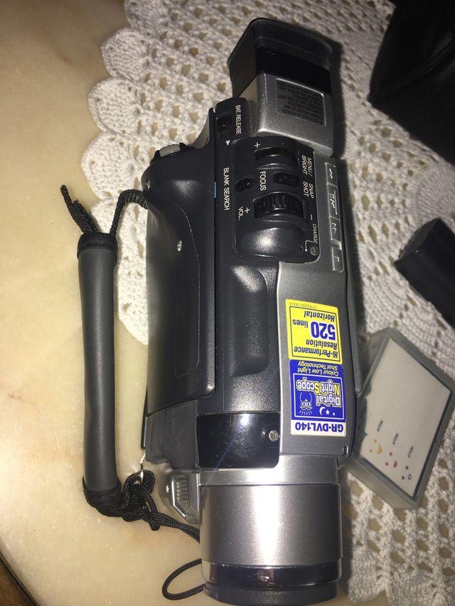 Vídeo cámara vintage JVC GR-DVL140