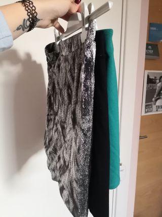 Falda de fiesta (lote x3)