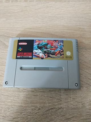 Juego Street Fighter II para snes