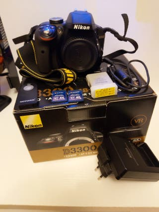 cámara de fotos nikon d3300(cuerpo)