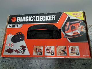 Lijadora Black & Decker