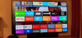 """Televisión Sony 75"""" KDL75W855C Android TV"""