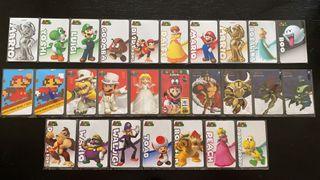 Amiibos Super Mario