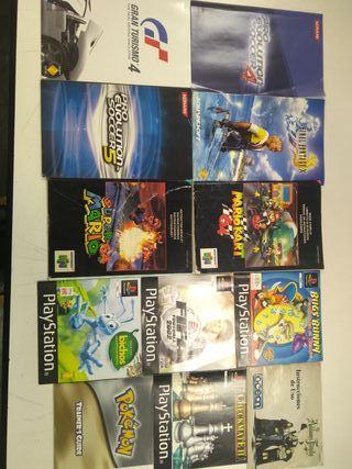 manuales videojuegos