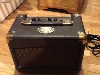 Amplificador guitarra acústica