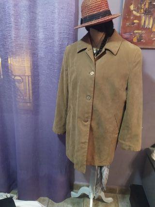 chaqueta antelina t44