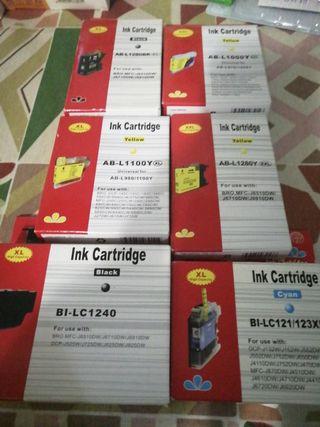 cartuchos tinta impresora Brother MFC DCP