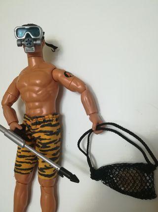 action man buzo