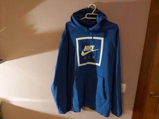 Sudadera Nike Air Azul amarillo+blanco