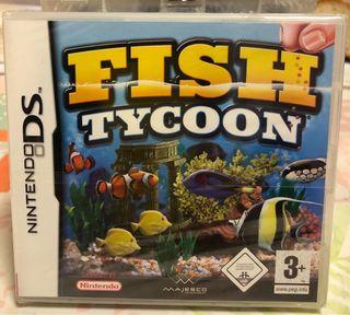 FISH TYCOON NINTENDO DS NEW PRECINTADO