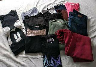 2 bolsas de ropa