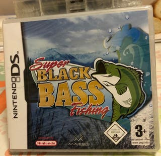 SUPER BLACK BASS FISHING NINTENDO DS NEW