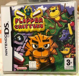 FLIPPER CRITTERS NINTENDO DS NEW PRECINTADO