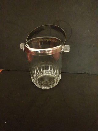 #cubitera#hielo#frio#15×16#vidrio#antiguo#vintage