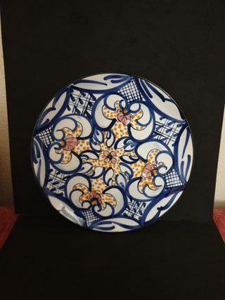 #plato#ceramica#decoracion#cocina#30cm#vintage#