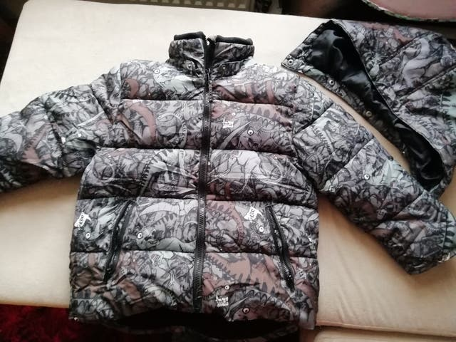 warm Jacket for Boys 7/8y