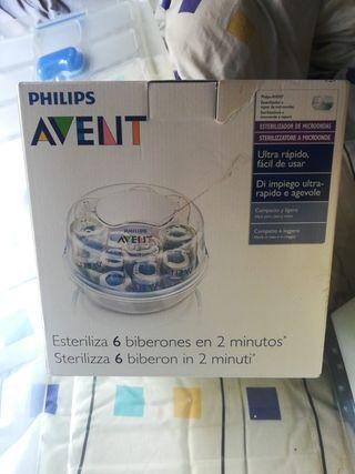 esterilizador de microondas Philips