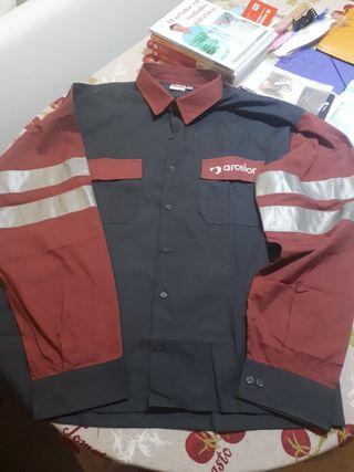 Camisa de trabajo Arcelor