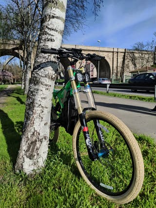 Bicicleta ebike 90Km/h Downhill