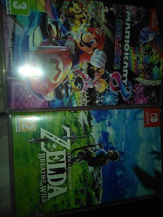Mario kart 8 Deluxe, Zelda botw