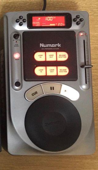 Reproductor de Cd's Numark