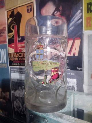 Antigua jarra para cerveza años 80 Asturias
