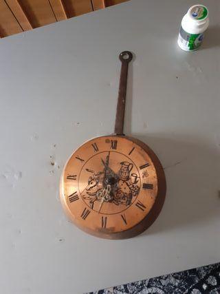 reloj d cobre