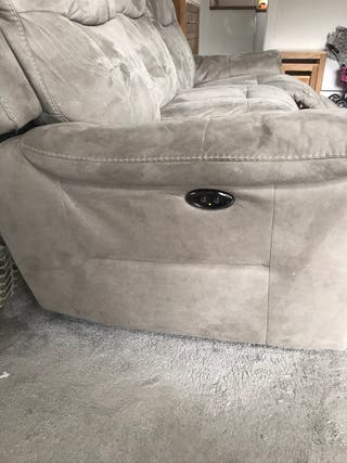 4 seater sofa/Armchair electric recliner