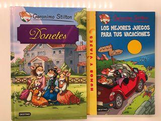 Libros Geronimo Stilton.