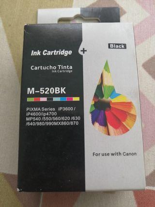 Canon pixma IP 3600,cartucho de tinta negro