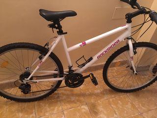 Bicicleta de mujer rockrider