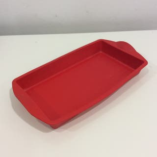 Molde silicona rectangular Tupperware