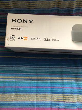 Barra de sonido Sony HT-X8500. 2.1ch