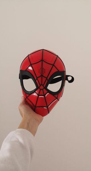 Máscara de Spiderman con sonido