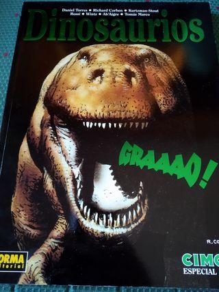 Tomo Cimoc Especial 12: Dinosaurios. Descatalogado