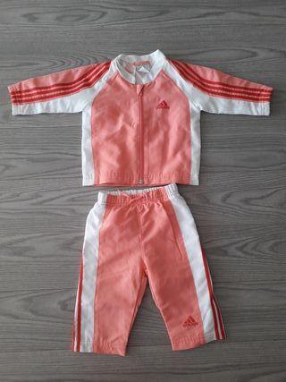 chandal adidas bebe niña 3-6 meses 68cm