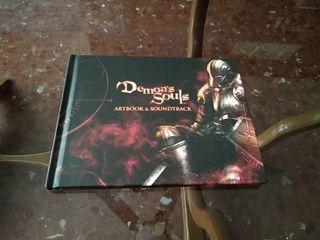 libro de arte y banda sonora de demon's Souls