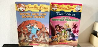 Geronimo y Tea Stilton en inglés