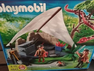 Playmobil campamento de cazadores 4843